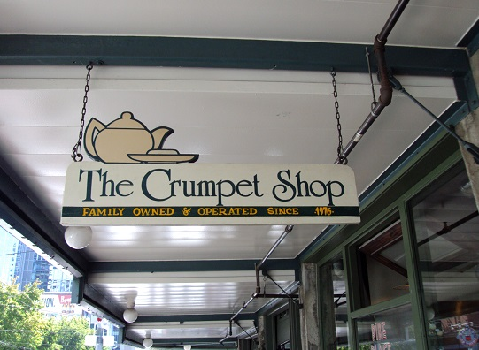 the crumpet shop, coffee in Seattle