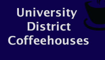 coffee places in the university district, university district coffeeshops