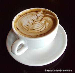 seattle coffee scene - coffee art