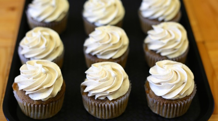Miss Mamie's Moist Coffee Cupcakes with Espresso Buttercream Frosting