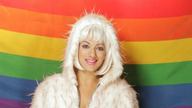 Leeni in Mod Carousel's latest video Photo by Trojan Original
