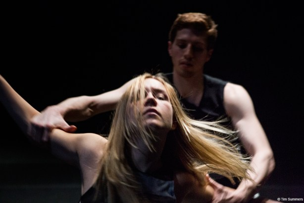 Kate Wallich and Andrew Bartee in Super Eagle Photo by Tim Summers