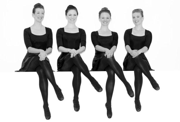 The ladies of the Seattle Irish Dance Company Photo by Chris Wujek