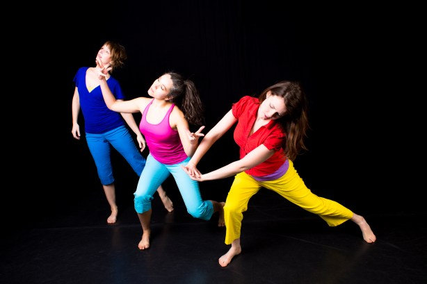 Sapience Dance Collective co-Directors Amy Weaver, Sarah Seder, and Lilah Steece Photo by Joseph Lambert/Jazzy Photo
