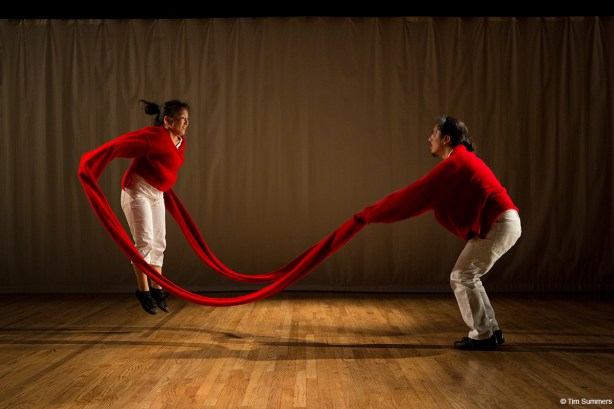 Debby Kajiyama and José Navarrete of San Francisco's NAKA Dance Theater Photo by Tim Summers