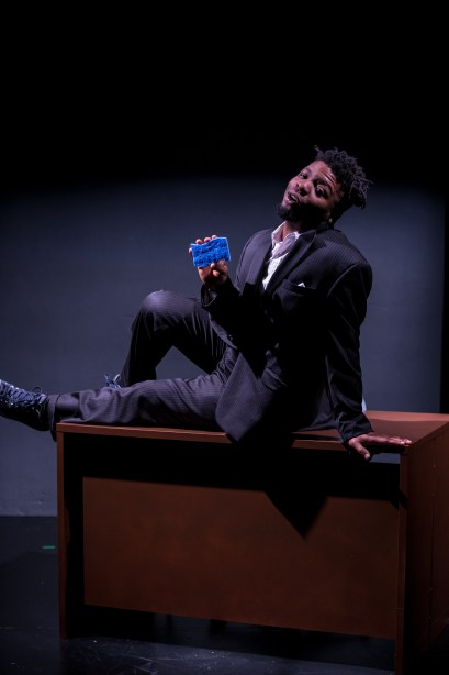 Markeith Wiley as Dushawn Brown. Photo by Joseph Lambert.