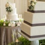 Seattle Floral Design Weddings Newcastle Golf Club White Green Wedding Cake Flowers Succulent Seattle Floral Design