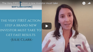 The Very FIRST action a new investor must take