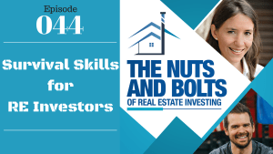 SIC 044: Survival Skills for RE Investors with Joe Bauer and Julie Clark