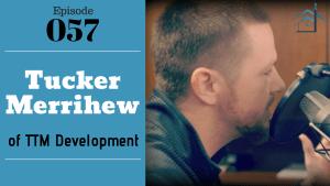 Tucker Merrihew of TTM Development with Julie Clark and Joe Bauer