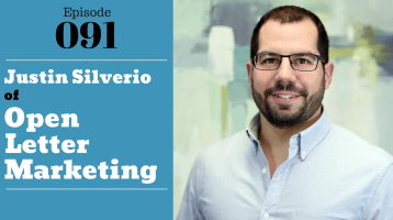 Justin Silverio of Open Letter Marketing with Julie Clark and Joe Bauer of the nuts and bolts of real estate podcast