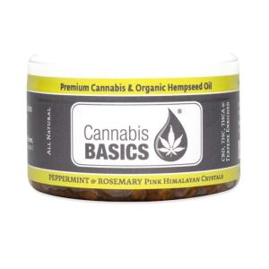 Cannabis Basics Peppermint Rosemary Salt