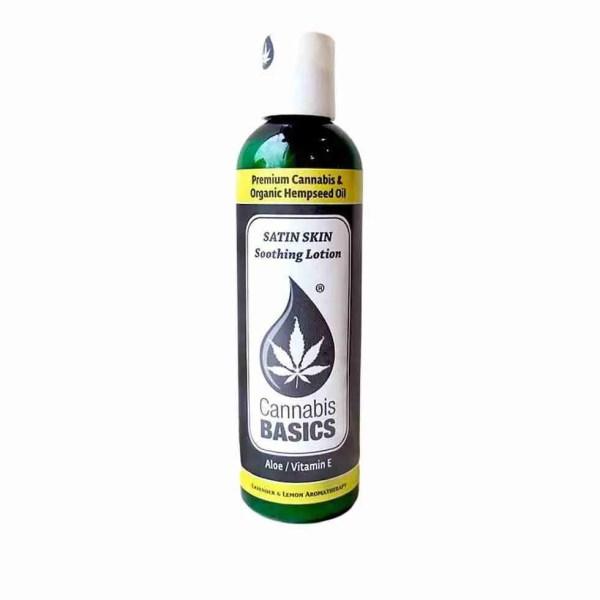 Cannabis Basics Satin Skin Soothing Lotion