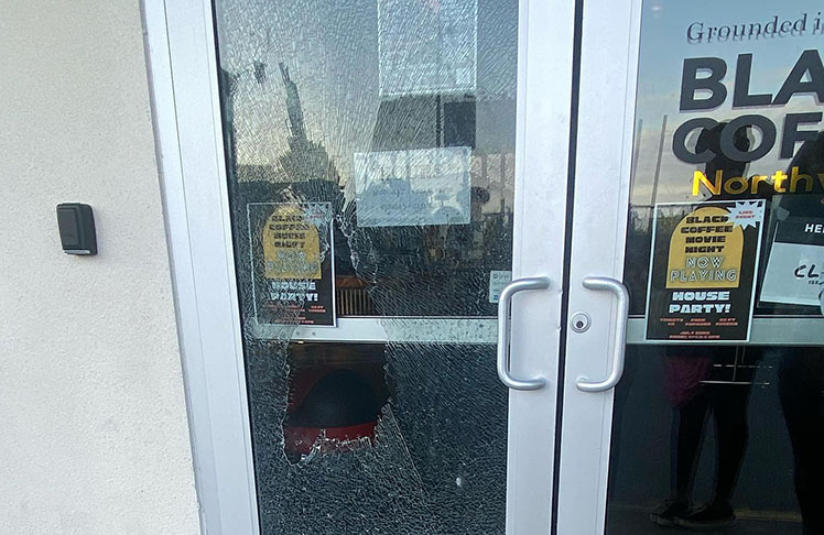 Black Owned Coffee Shop Burglarized, Vandalized, Faces Ongoing Harassment