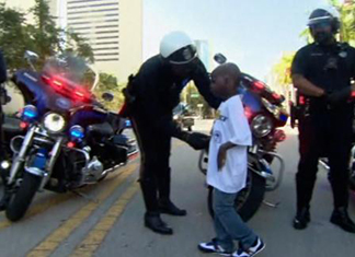 5-Year-Old Miami Boy Gets To Be Police Chief For A Day