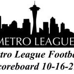 Metro League Football Roundup 10-16-21