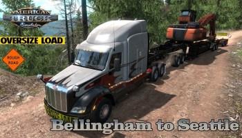 American Truck Simulator 1 35 – International LT – Seattle