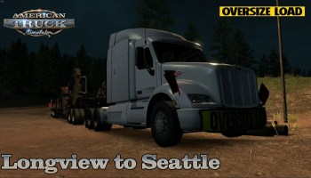 American Truck Simulator 1 35 – International LT – Seattle