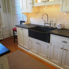 Soapstone Kitchen Counters Glass Knobs For Cabinets Countertops Seattle With 4 Slab Backsplash