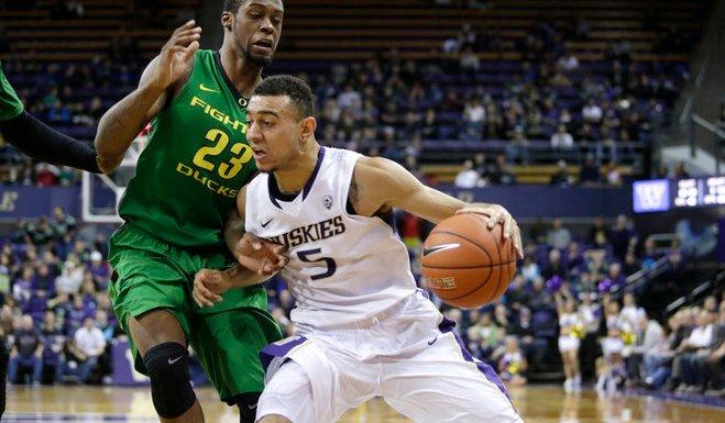 College Basketball: Washington Huskies vs. Oregon Ducks