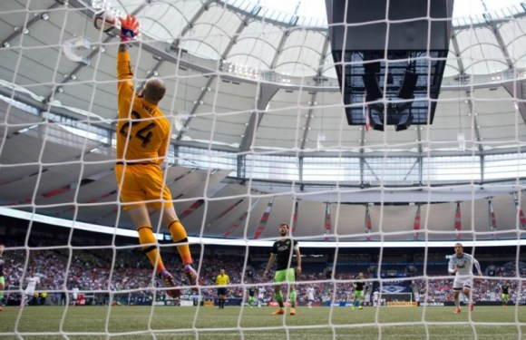Seattle Sounders 2 Vancouver Whitecaps 0: Reserve Forward Barrett Scores Twice to Power the Sounders to Victory