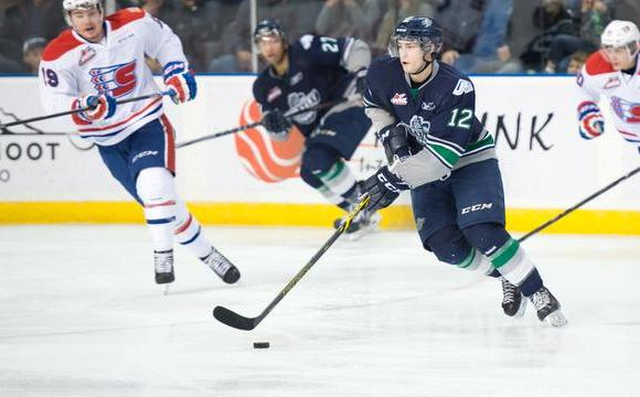 Thunderbirds rebound on home ice, defeat Spokane 5-1