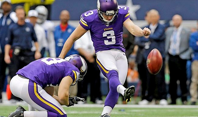 cheap for discount 96110 68bee Seahawks sign former Vikings kicker Blair Walsh, spells doom ...
