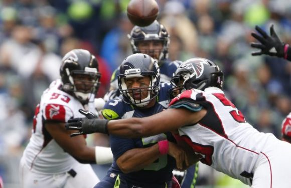 Wounded Hawks host sputtering Falcons on Monday Night Football