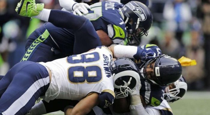 Seahawks crushed 42-7 by LA Rams, playoff hopes now slim, yet still alive