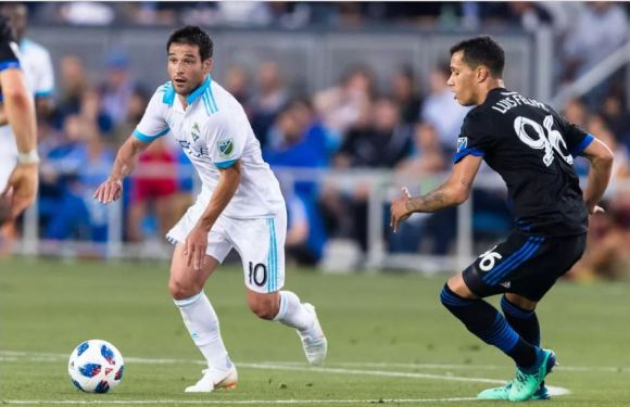 Raul Rudiaz scores 1st MLS goal to down San Jose