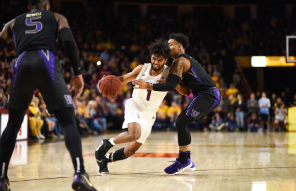 Huskies fail last major PAC12 test as they lose 75-63 to Sun Devils