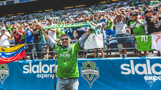 Full strength Sounders show MLS the power of the Rave Green, drop Atlanta 2-1