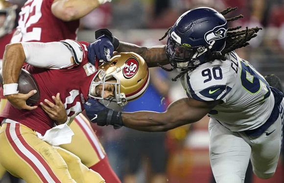 Seahawks take down undefeated 49ers 27-24