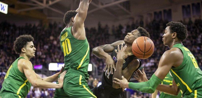 Huskies earn split, but unable to put away #8 Oregon