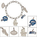 Seattle Seahawks Bracelets and Charms