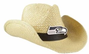 Seattle Seahawks Straw Cowboy Hats