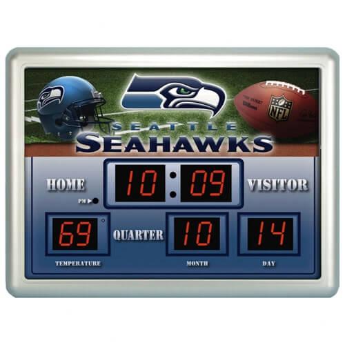 Seattle Seahawks Clocks