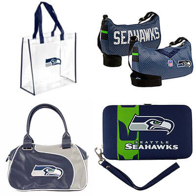 Seattle Seahawks Purses - Game Day Bags - Totes - Backpacks