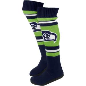 Seattle Seahawks Socks and Slipper Socks