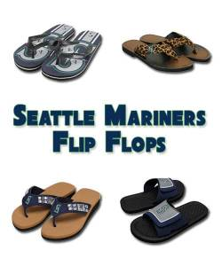 Seattle Mariners Flip Flops
