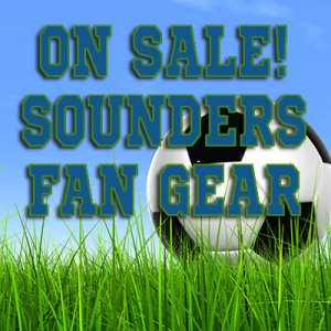 Sounders Soccer Fan Gear On Sale