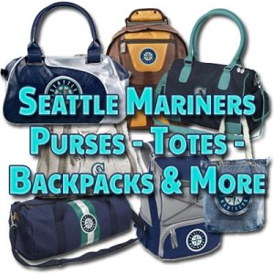 Mariners purses, handbags, totes, satchels, backpacks and more