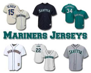 Seattle Mariners Baseball Jerseys
