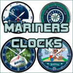 Seattle Mariners Clocks