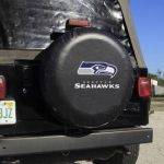 Seattle Seahawks Large Tire Cover