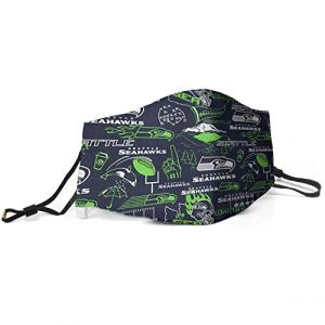 Seattle Seahawks Face Masks