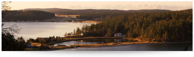 Jones Shellfish farm is located on the North end of Lopez Island and features a 3-acre tidal lagoon with a freshwater spring and 3 acres of tidelands on Shoal Bay.