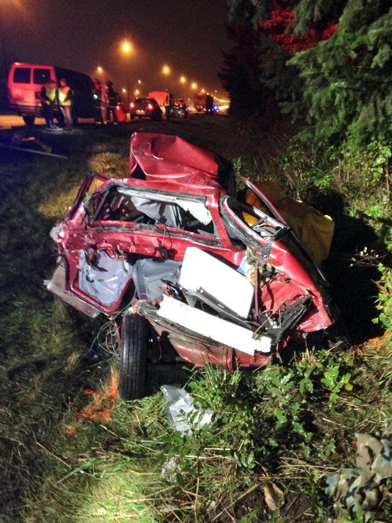 Semi rear ends car on shoulder of I5 driver killed  The Today File  Seattle Times