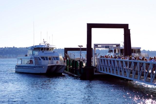 Spirit of Kingston at Colman Dock