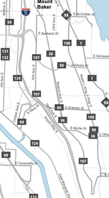 Beacon Hill Map